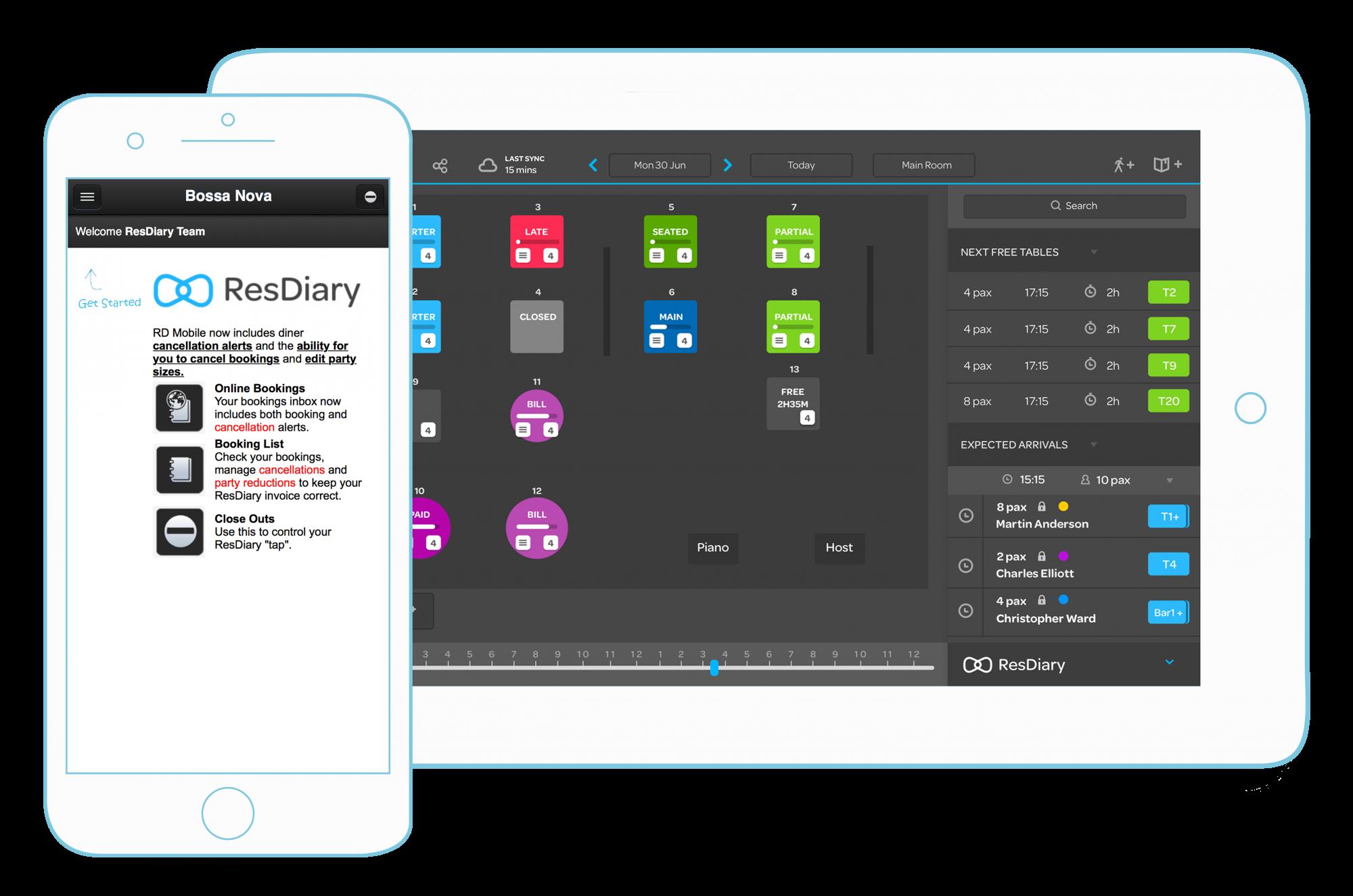 table management app