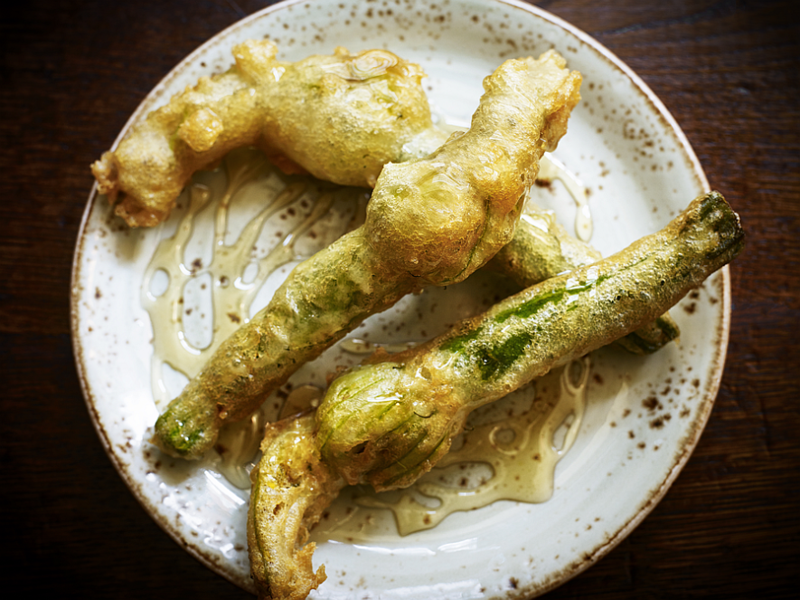 Courgette Flowers food