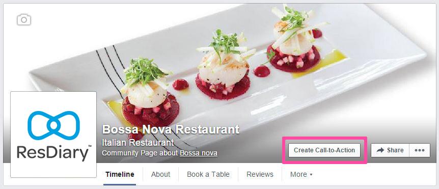facebook book now button