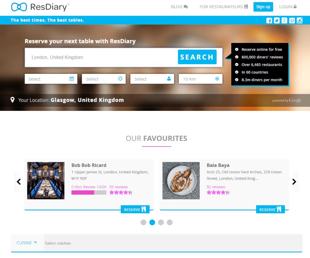 resdiary.com