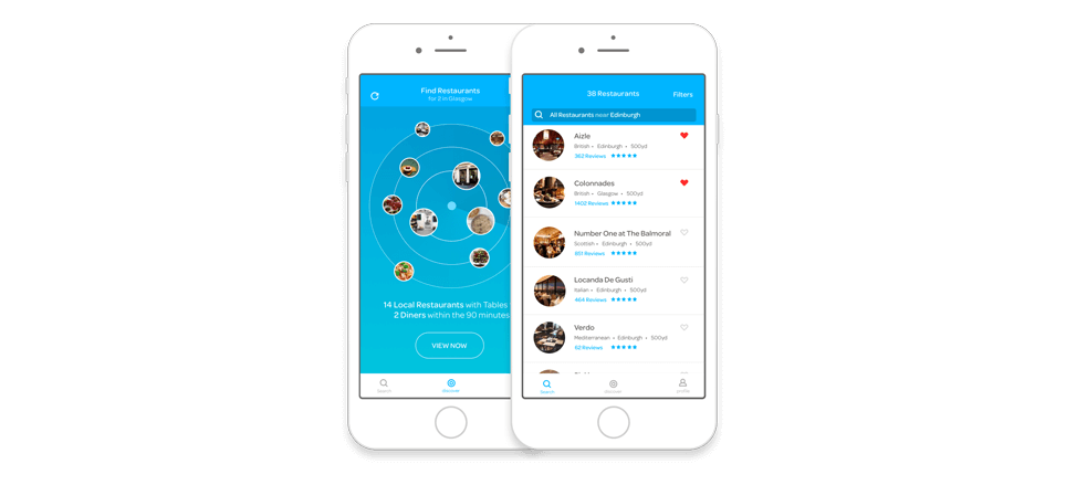 ResDiary Launches Table Booking App With Advanced Uber Integration - Table reservation app