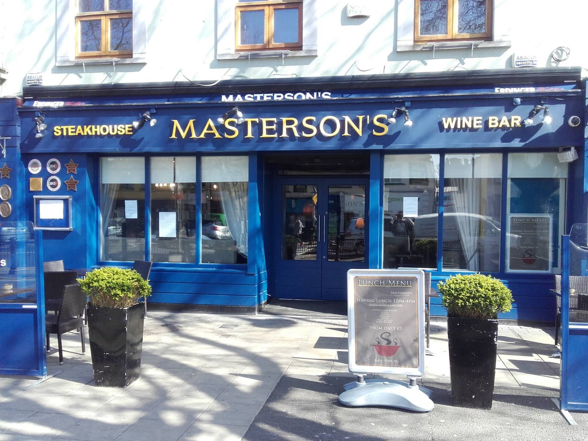 father's day Dublin Mastersons Steak House