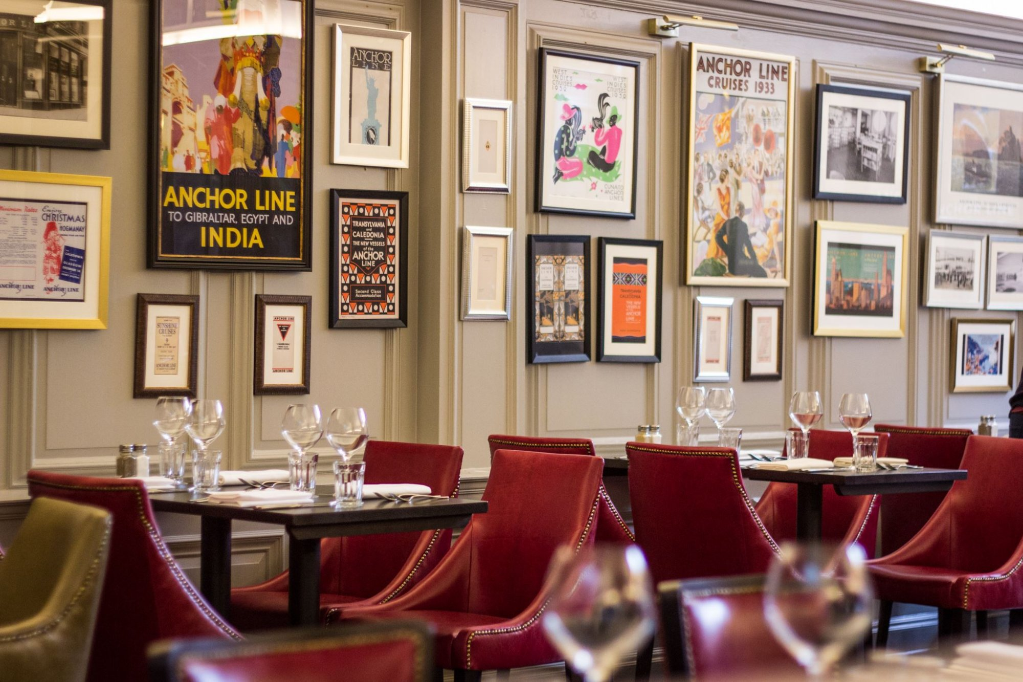 private dining glasgow