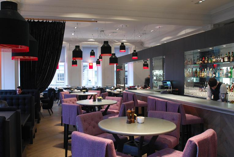 private dining in glasgow