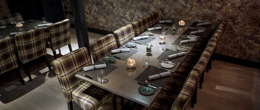 private dining in edinburgh