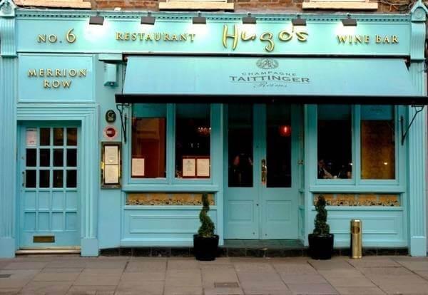 restaurants near St Stephen's Green