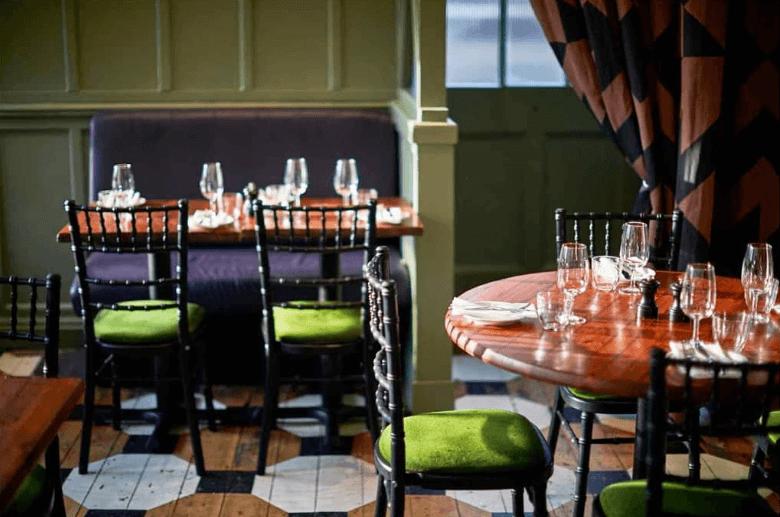 restaurants in london